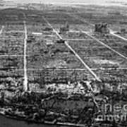 Atomic Bomb Destruction, Hiroshima Poster