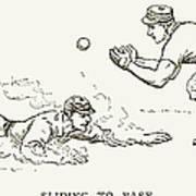 Baseball Players, 1889 Poster