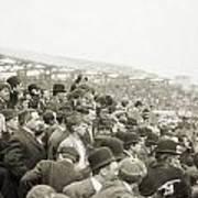 Baseball: Playoff, 1908 Poster