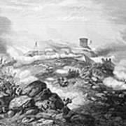 Battle Of Chapultepec, 1847 Poster