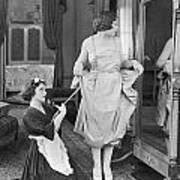 Bedroom Scene, 1920s Poster