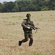 Belgian Paratroopers Proceeding Poster