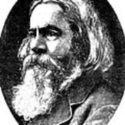 Benjamin Peirce, American Mathematician Poster