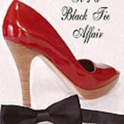 Black Tie Affair Poster by Anne Kitzman