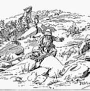 Boer War, 1899 Poster