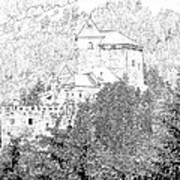 Burg Reifenstein Sterzing Italy Poster