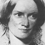Charlotte Bronte, English Author Poster by Science Source
