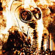 Chemical Warfare Poster by Mehau Kulyk