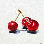 Cherries Poster