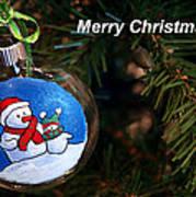 Christmas Card Poster