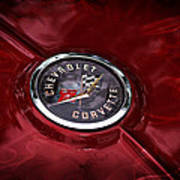 Classic Corvette Poster