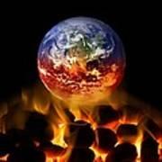 Climate Change, Conceptual Image Poster