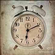 Clock Poster by Bernard Jaubert