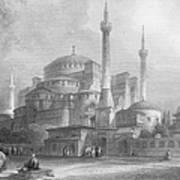Constantinople: St. Sophia Poster