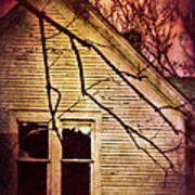 Creepy Abandoned House Poster