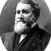 Cyrus Mccormick, American Inventor Poster