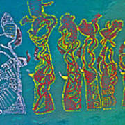 Dinka Wise Virgins Poster