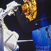 Discovery Spacewalk Poster