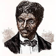 Dred Scott, African-american Hero Poster