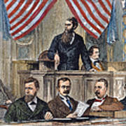 Electoral Commission, 1877 Poster