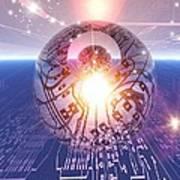 Electronic World, Artwork Poster