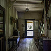 Farmhouse Entry Hall And Stairs Poster
