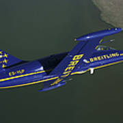 Flying With The Aero L-39 Albatros Poster