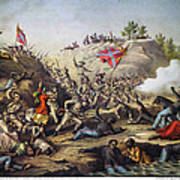 Fort Pillow Massacre, 1864 Poster by Granger