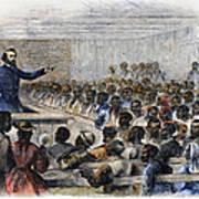 Freedmens Village, 1866 Poster