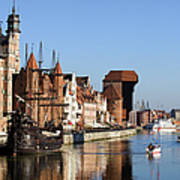 Gdansk In Poland Poster by Artur Bogacki