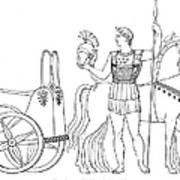 Greek Chariot Poster