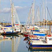 Howth Harbour Poster