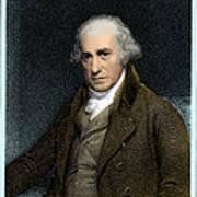 James Watt, Scottish Inventor Poster