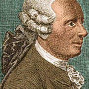 Jean Le Rond Dalembert, French Polymath Poster