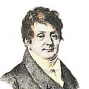 Joseph Fourier, French Mathematician Poster