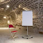 Meeting Rooms Vaulted Ceilings Poster by Jaak Nilson