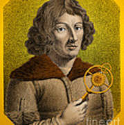 Nicolaus Copernicus, Polish Astronomer Poster by Omikron