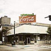 On The Corner Poster by Scott Pellegrin