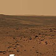 Panoramic View Of Mars Poster
