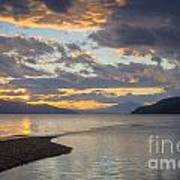Pend Oreille Sunset Poster