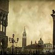 Piazetta. Venice Poster