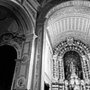 Portuguese Church Poster