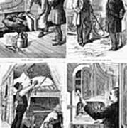 Pullman Car, 1877 Poster