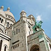 Sacre Coeur Basilica Paris France Poster