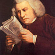 Samuel Johnson, English Author Poster by Photo Researchers