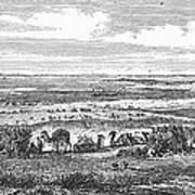 Suez Canal, 1869 Poster