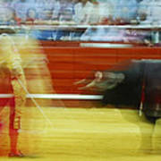 Tauromaquia Bull-fights In Spain Poster