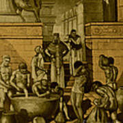 The Art Of Brewing, Babylon Poster by Science Source