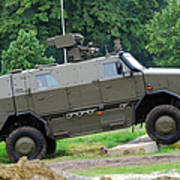 The Dingo 2 Mppv Of The Belgian Army Poster