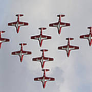 The Snowbirds 431 Air Demonstration Poster